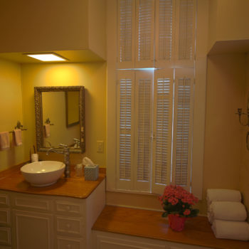 sunrise room bath and shower