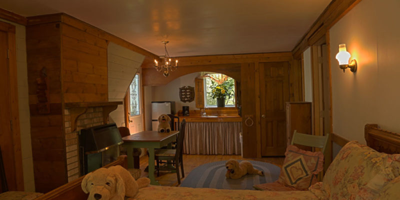 The two bedroom cottage